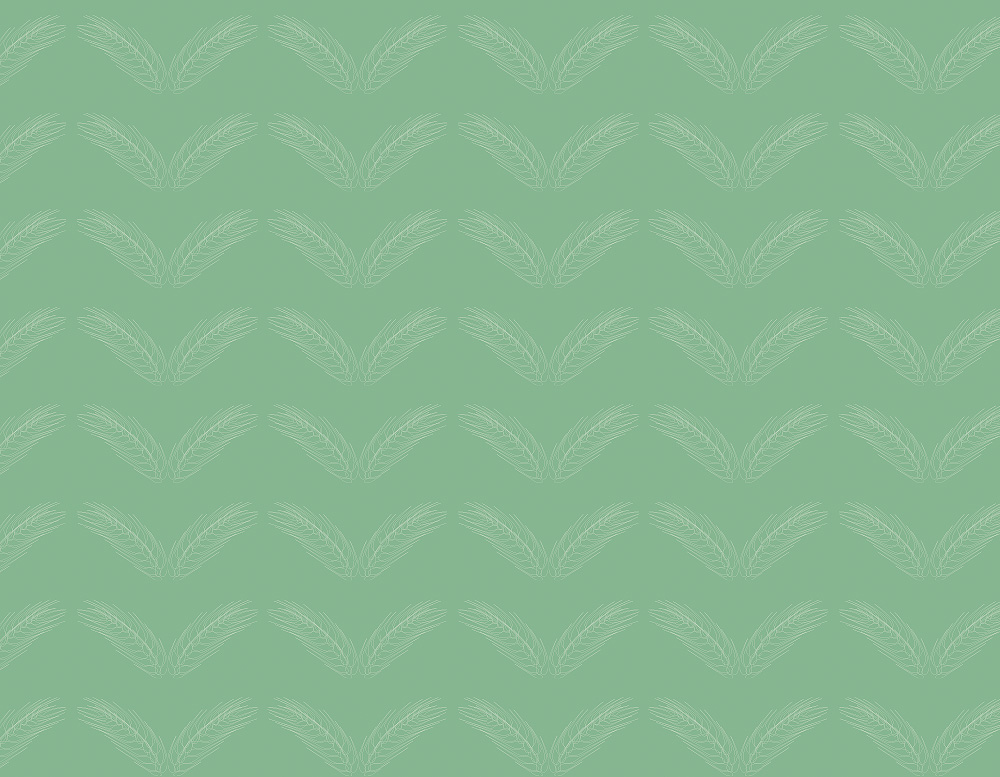 duck egg green wheat wallpaper and fabric
