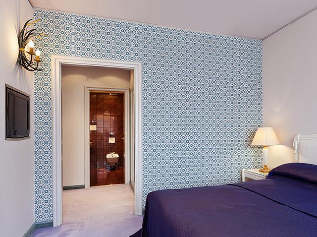 heerengraght pattern in a bedroom