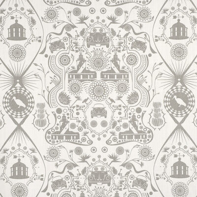 intricate pattern for fabric