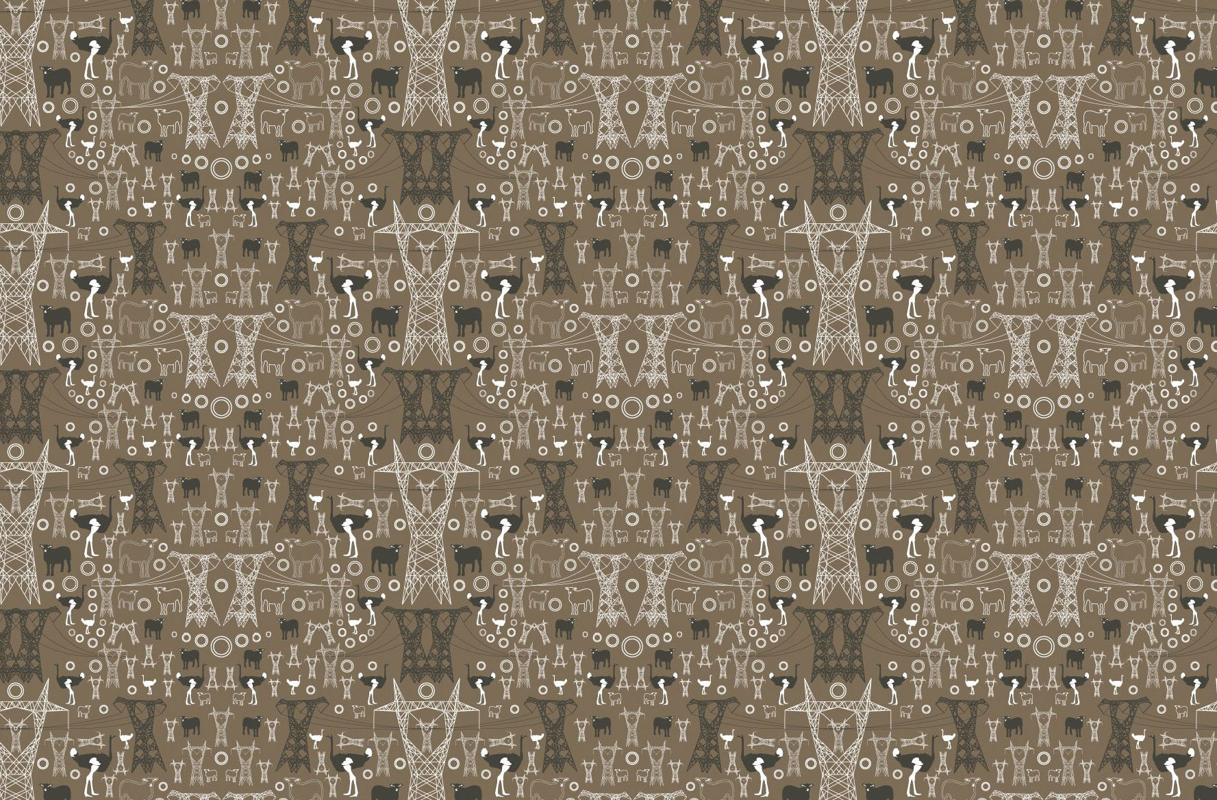 custom wallpaper pattern