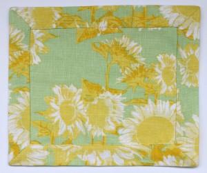 Yellow Green Mat