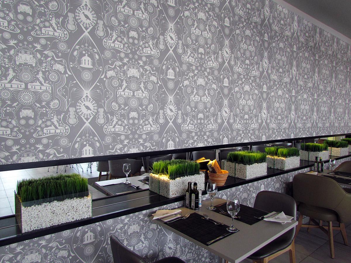 Wallpaper in Protea Fire & Ice  Hotel