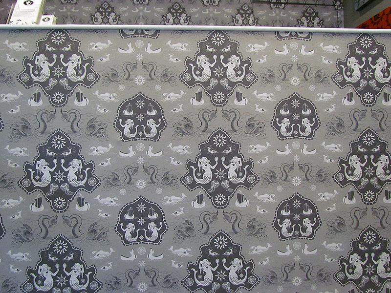 Customised pattern wallpaper