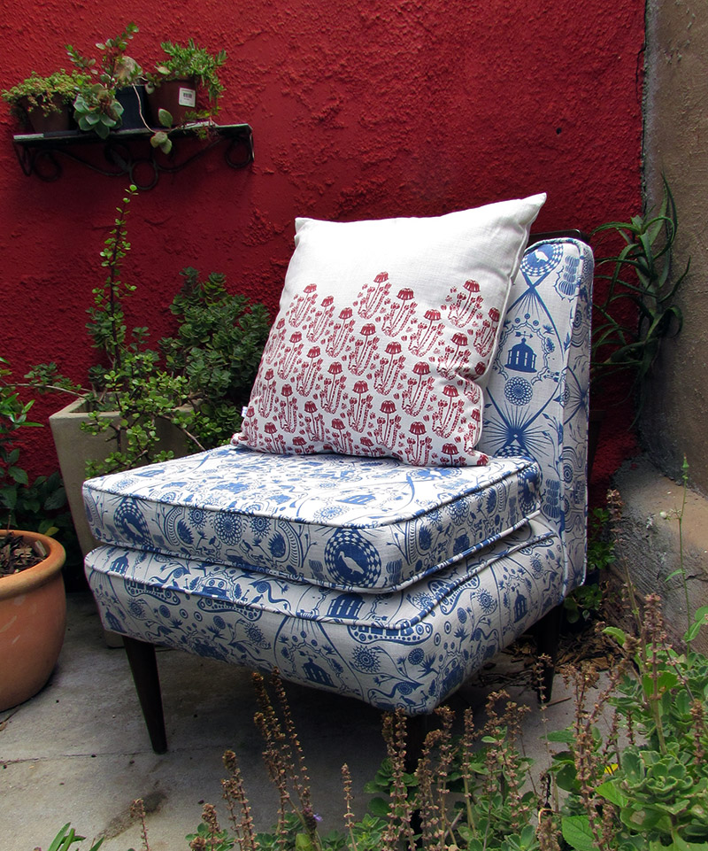 Upholstery fabrics - Quagga patterns