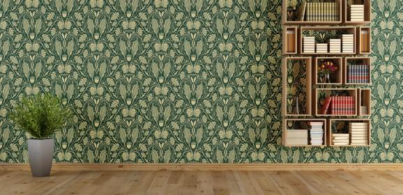 Heraldic mielie pattern
