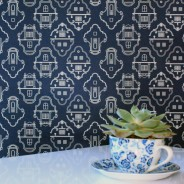 Cape Gables wallpaper in The Gardener's Cottage Restaurant