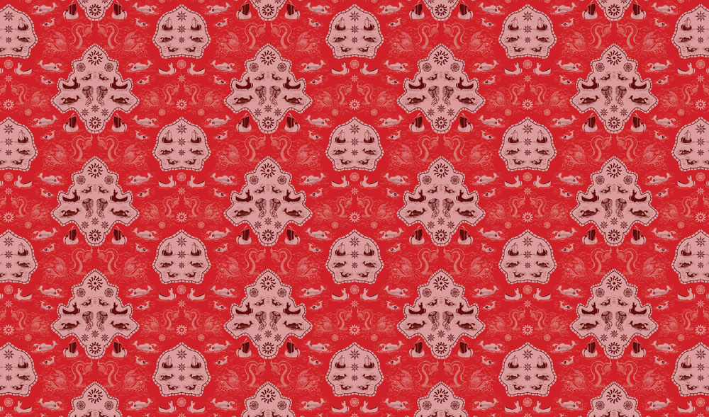 Red Sea Monster Wallpaper