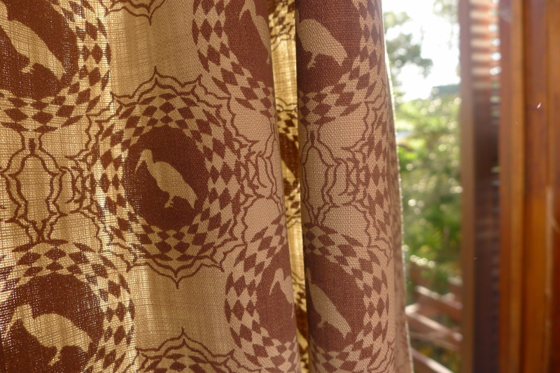 Hadeda fabric curtains