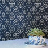 Cape Gables wallpaper in The Gardener's Cottage Restaurant