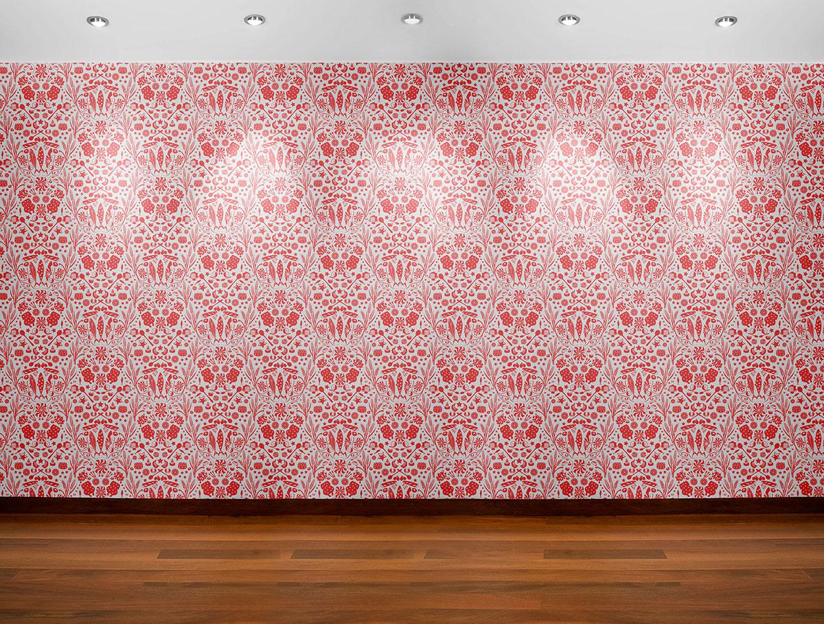 delicacies and vitals wallpaper pattern