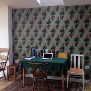 Aloe pattern wall