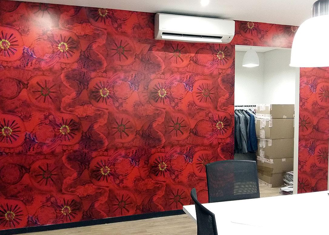 red hibiscus wallpaper